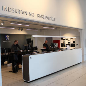 Peugeot automotive dealership Køge Denmark
