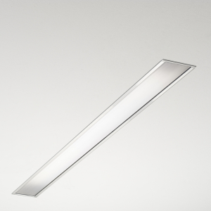 File recessed LED with opaline diffuser