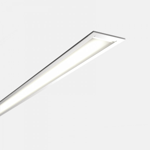 Microfile recessed LED