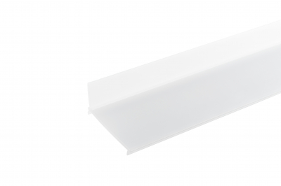 indirect opal white side diffuser for wall installation