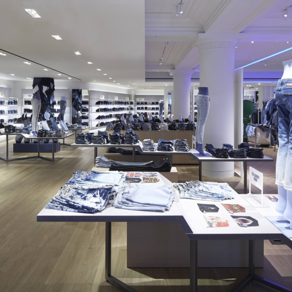 Lucifero's illumina Denim Studio - Selfridges - London - UK